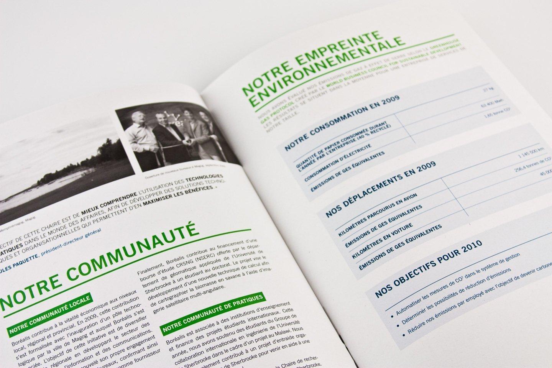 BOREALIS-Edition-Rapport-2009-6 Rapport annuel