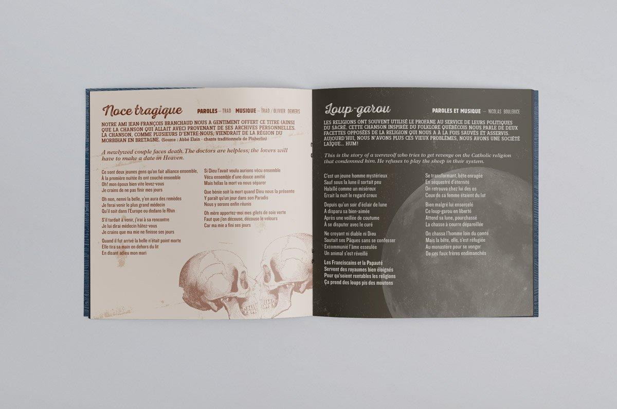 VDN-Tetu-Booklet-01 Le Vent du Nord - CD Têtu