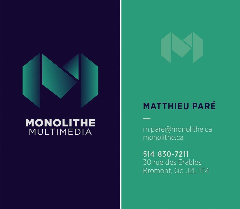 Monolithe-Cartes-recto Monolithe - Identité