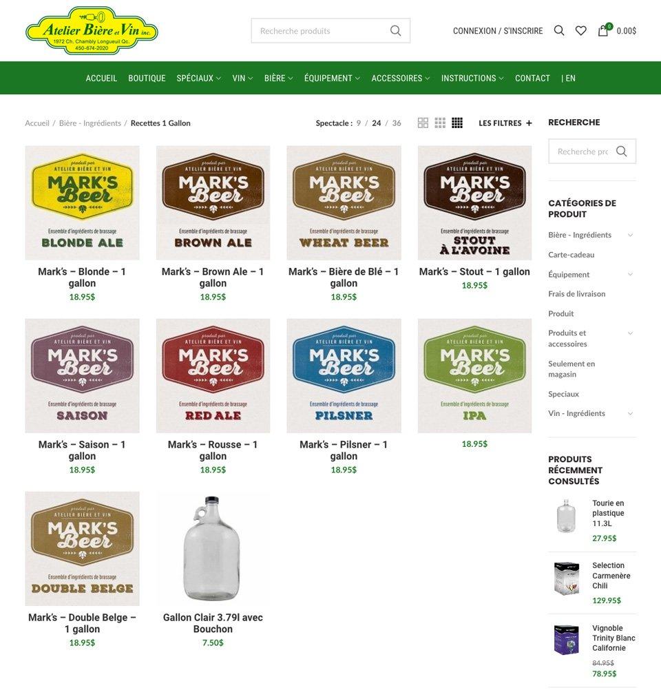 atelier-biere-vin-site-web-page-marks-beer Atelier Bière et Vin - Site Web
