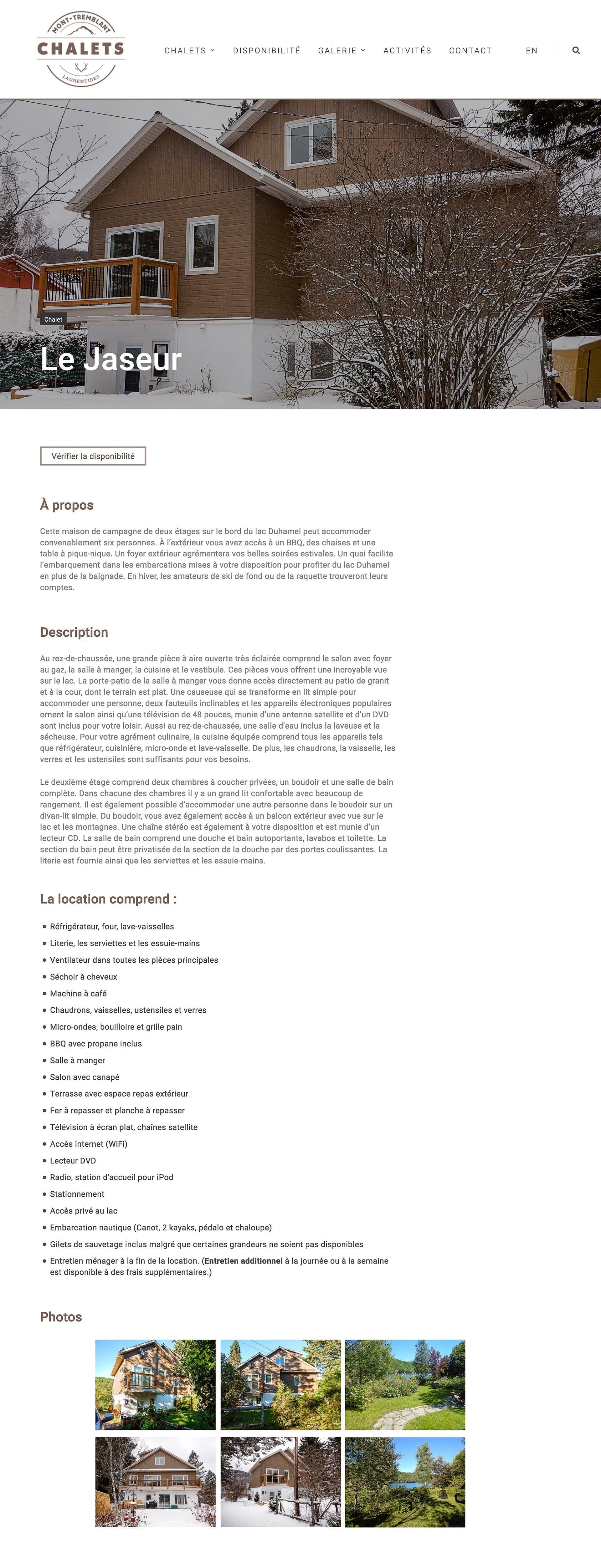 chalet-laurentides-site-web-2 Chalets Mont-Tremblant - Site