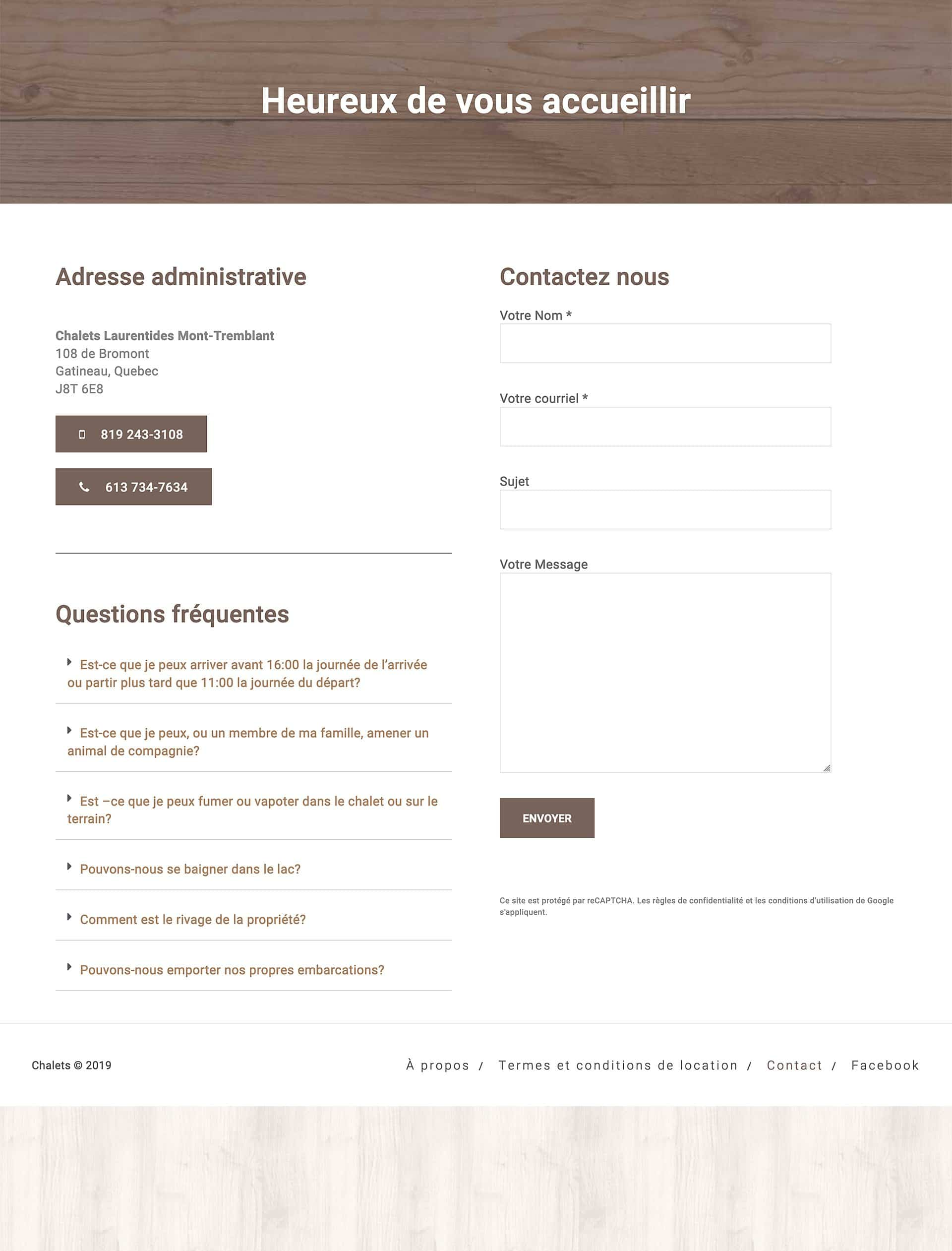 chalet-laurentides-site-web-5 Chalets Mont-Tremblant - Site