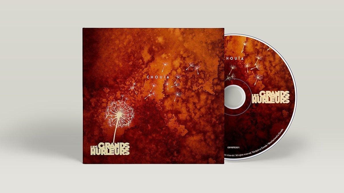 cd-chouia Les Grands Hurleurs - CD Chouïa