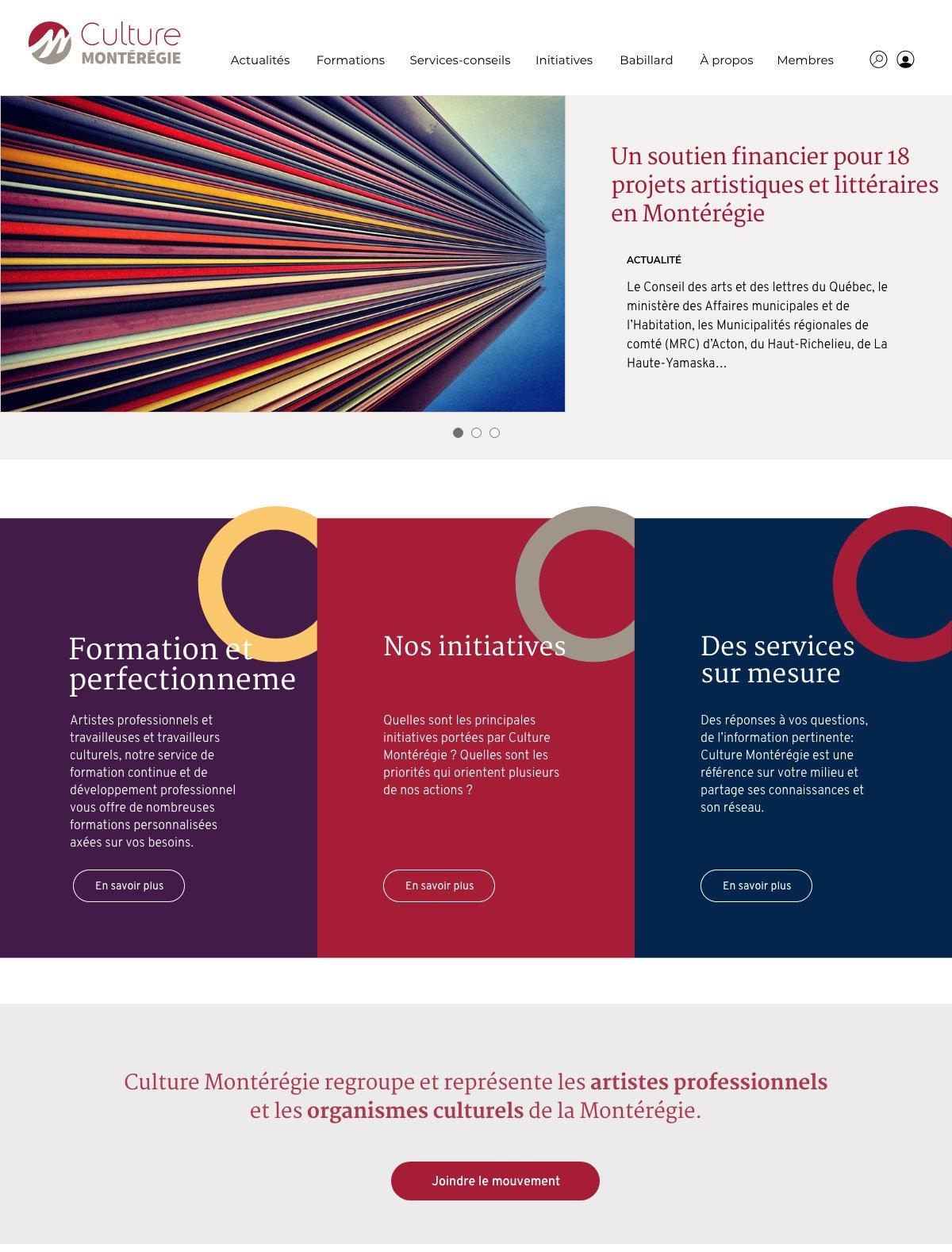 Projet_Site_Web_Culture-Monteregie_page_00_01 Culture Montérégie - Site